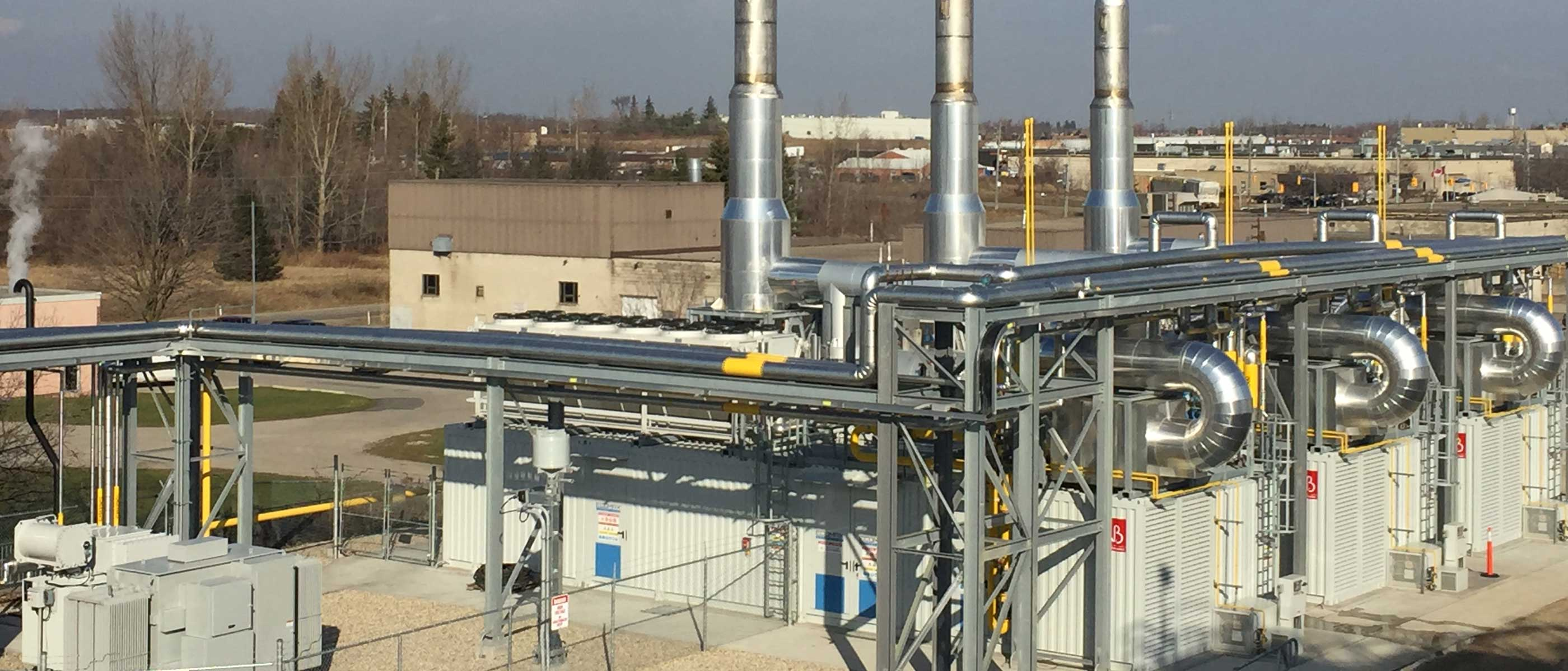 Ellisdon Polycon Industries Combined Heat And Power Plant